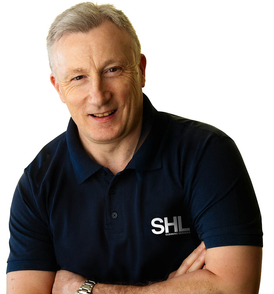 Steve Hands - Managing Director of SHL Cleaning.